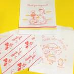☆レトロでキッチュ 女の子柄紙袋10枚セット☆