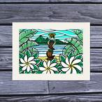 アートプリント A4(Tahitian Dancer)