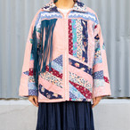 Patchwork & Fringe Design Jacket