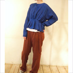 【hippiness】cupro tuck blouse/【ヒッピネス】キュプラ タック ブラウス