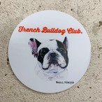 Bull.Tokyo オリジナル ステッカー Part.2 「- French Bulldog Club -」パイド