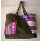 【sandglass】patchwork bag / 【サンドグラス】パッチワーク バッグ