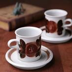 ARABIA アラビア Rosmarin ロスマリン コーヒーカップ&ソーサー 北欧ヴィンテージ