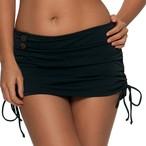 Curvy kate  Luau Love スカート付ビキニブリーフ ブラック