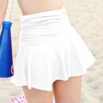 水着 スカート 単品 巻きスカート ラップスカート シンプル パレオ ハイウエスト 体型カバー
