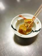 カボチャと鶏ひき肉の煮物 鶏出汁餡かけ
