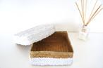 ベトナムシーグラス BOX スパンコール_WHITE