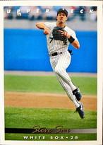 MLBカード 93UPPERDECK Steve Sax #369 WHITE SOX