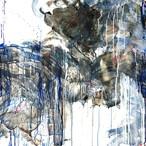 絵画 インテリア アートパネル 雑貨 壁掛け 置物 おしゃれ 抽象画 現代アート ロココロ 画家 : tamajapan 作品 : t-24  /  tamajapan