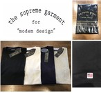 modem design USA cotton Pocket Tee (パックT)