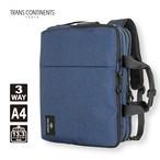 TC-4952 撥水 3wayビジネスバッグ A4サイズ TRANS CONTINENTS トランスコンチネンツ