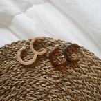 big hoop pierced earrings ✦ おおぶり フープピアス