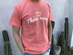 ThreeArrows aloha Tシャツ(light salmon)