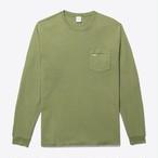 Long Sleeve Pocket Tee(Army Green)