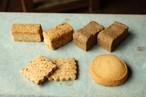 butterとveganクッキーお菓子箱