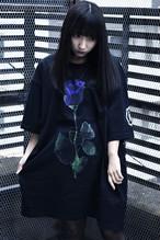 「棘薔薇/Rose Needle」T-Shirt Black