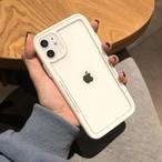 大人 iPhone11 Pro/11/xs/xr/8 クリアケース 強化ガラス 全4色☆2020年新品発売
