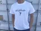 【Fine7月号掲載】 alohaサイン Tシャツ(日焼けハンド)