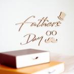 木製 / レターバナー  Father's Day