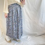 フラワープリントスカート(elie)