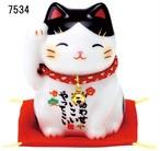 福招き猫(ぶち/黒/茶とら/とら)