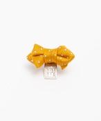 tibitie(チビタイ)ドットリボンモチーフ:オレンジ