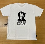 hs-50 ATHLETICS 『DADAISM』 T-SHIRT ・ホワイト