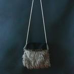 Fur Bag  Fサイズ  Black&Charcoal