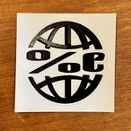 %C Circle LOGO ステッカー