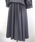 W018 ロングサーキュラースカートの型紙