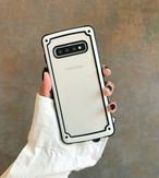 耐衝撃強化 Galaxy S10 Plusケース s10 s9 note9 カバー 全7色 メンズ レディース シンプル お洒落 人気galaxyケース