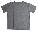 【残りわずか】mas.×EACHTIME. PILE T-SHIRT / Heather grey