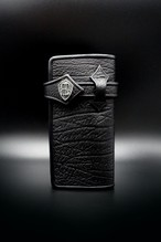 Item No.0403:Draw the wild Wallet/Antelope BLACK / Ball-fin