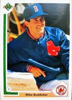 MLBカード 91UPPERDECK Mike Boddicker #438 RED SOX