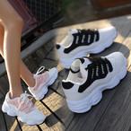 【shoes】カジュアル切り替え配色スニーカー19112522