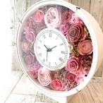 ◆オーダーメイド彫刻◆受注制作◆ 花時計 ピンクCS