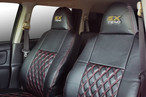50プロボックス EXTENDオリジナルシートカバー《ブラックxレッドステッチ》|50ProBox EXTEND ORIGINAL SEAT COVER《BK》