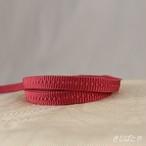 正絹 苺色の三分紐