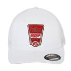 FINEST TRUCKER MESH CAP/WHITE
