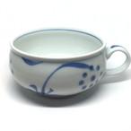 【砥部焼/梅山窯】スープカップ(太陽)