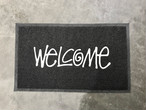 STUSSY WELCOME MAT (BLACK/WHITE)