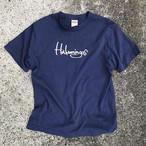 Hulamingos 2009 logo COTTON T-SHIRTS INDIGO COLER