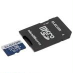 エレコム マイクロSD 16G 変換アダプタ付属