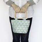 flowerepot bag S [trees / mint green]