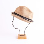 mature ha./BOXED HAT 104SW mixbrown×black