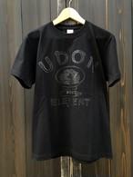 かせきさいだぁ UDON ELEMENT Tシャツ 同色プリント