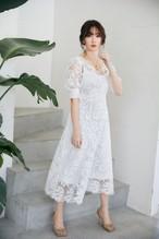 Back Lace-up Romantic Dress