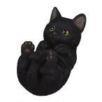 スマホスタンド 寝転びタイプ 黒猫