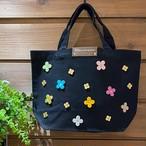 【オンラインショップ限定価格¥3,510→¥2,530】No.407ランチトートバッグS(Bag色ブラック)
