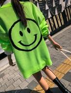 スマイルカーディガン カーディガン ニットカーディガン 韓国ファッション